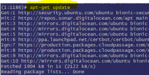 Update only Security Release with apt-get