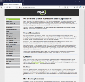 Setup DVWA to Practice Application Security Pentesting