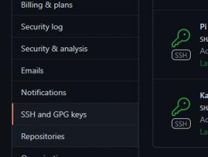 Use SSH Keys with Git