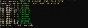 Python 3 Multi Threaded Ping Sweep Scanner