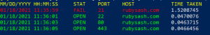 Check Open Ports with Powershell