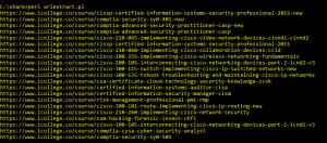 Extract URI Using Perl Regexp::Common